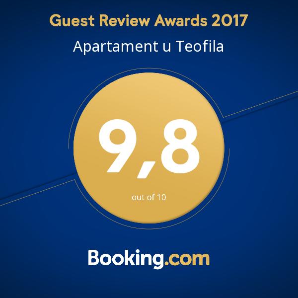 Guest Review Aword 2017 dla Apartament u Teofila